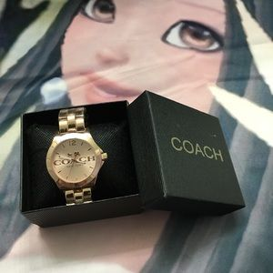 NEW Coach Rose Gold Watch